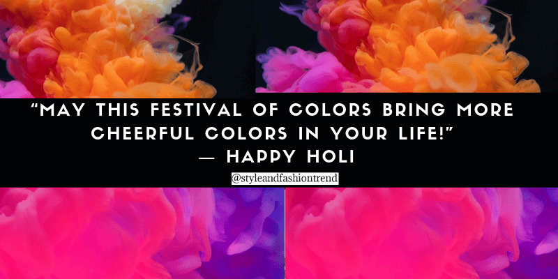 cheerful holi