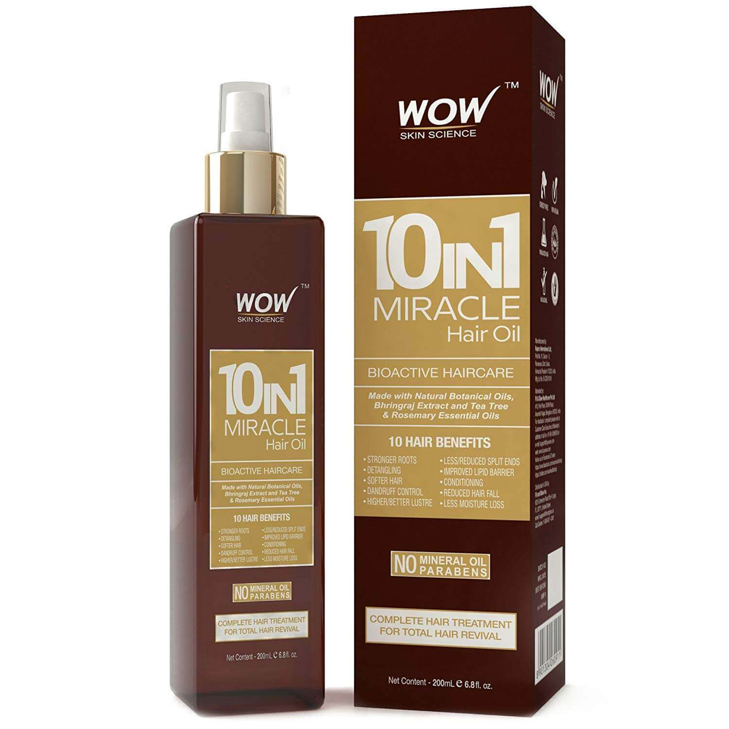 WOW 10-in-1 Miracle Hair Oil
