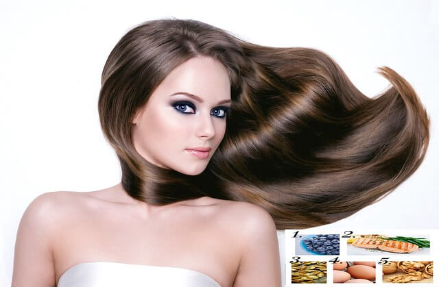 11 Ideal Food for Hair Growth and Thickness